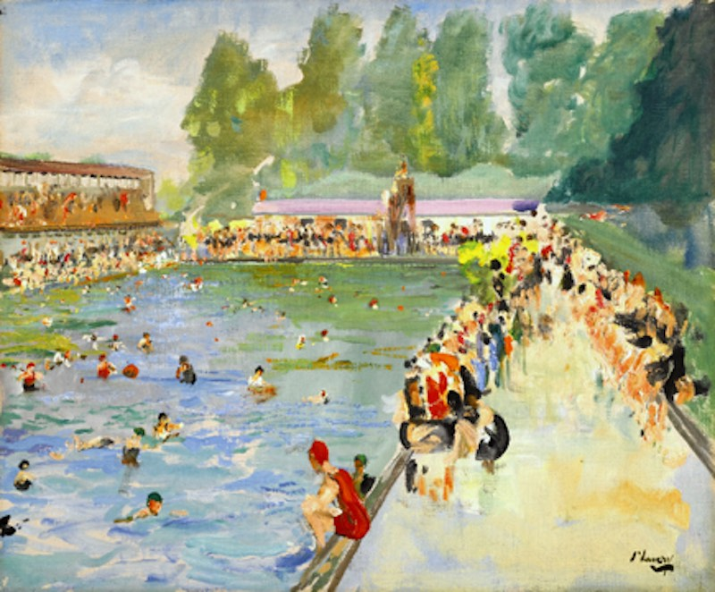 1929-Sir-John-Lavery-Chiswick-Baths