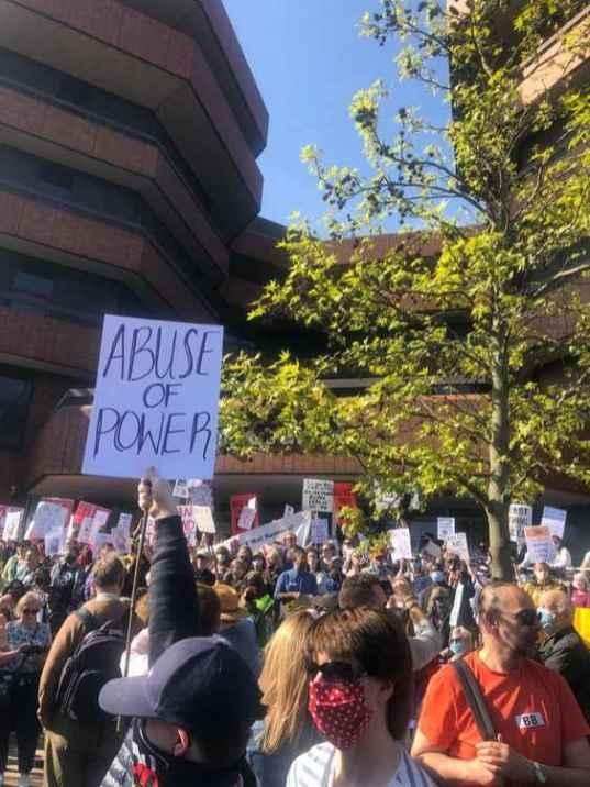 Ealing Protests LTN