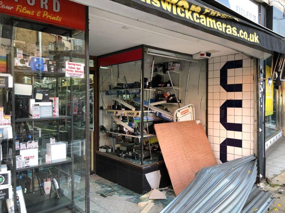 Chiswick Cameras ram raid 3_web
