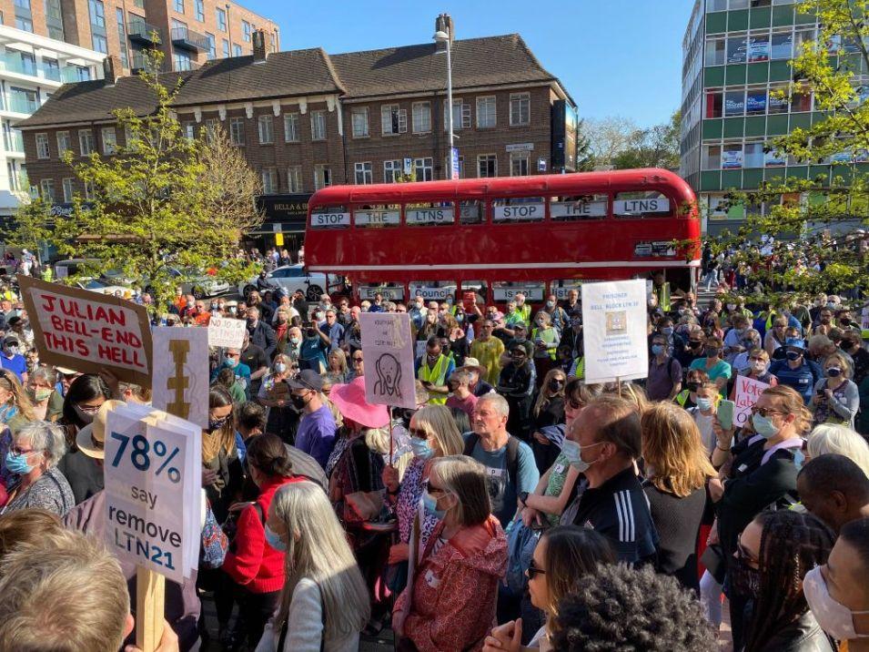 Ealing Protests LTNS