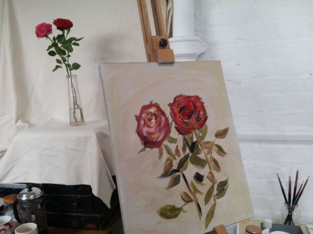 Introduction to oil painting