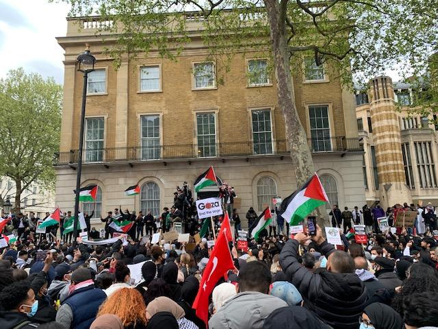 Free Palestine Protest London