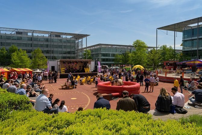 Chiswick Business Park Events Plaza