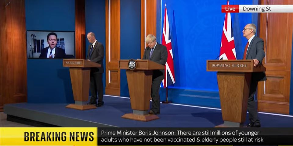 All three Downing St speakers