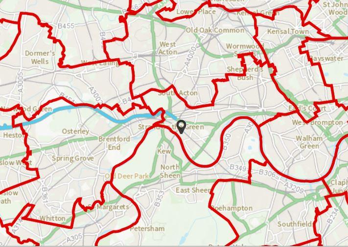 London Constituencies