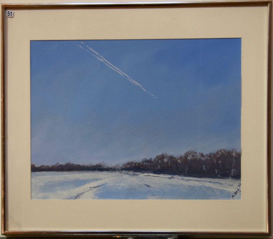Mel de Lasti, Snow Line - Tree Line - Skyline Suffolk - UID51