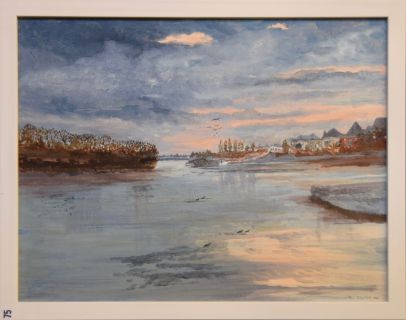 Oliver West, The Thames at Chiswick - UID75