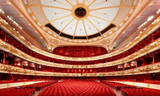 Royal Opera House If used please credit ©Peter Dazeley from his book London Theatres