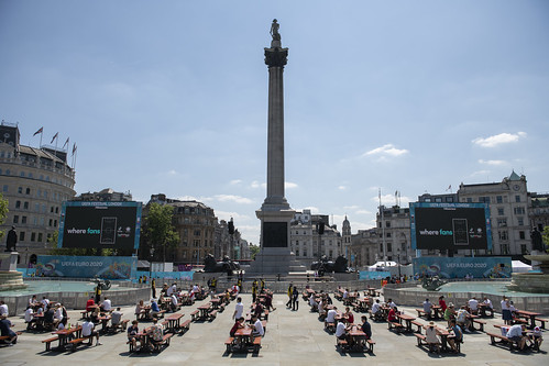 Trafalgar Square Fan Zone