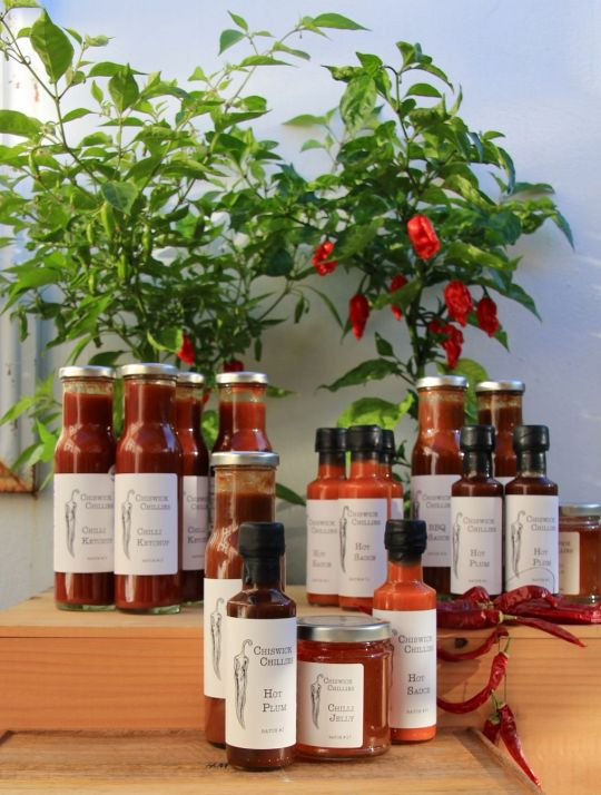 Chiswick Chillies - some products (1)