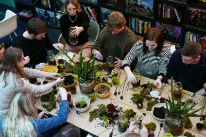 London Terrariums workshop