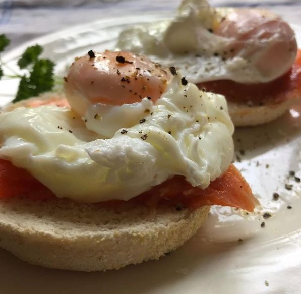 Hothouse cafe - salmon and eggs_web