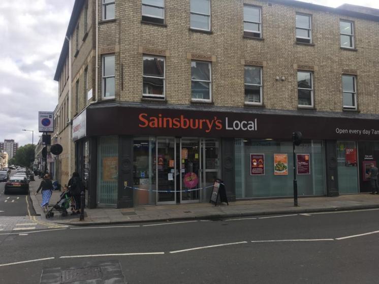 Sainsbury's Fulham Closed