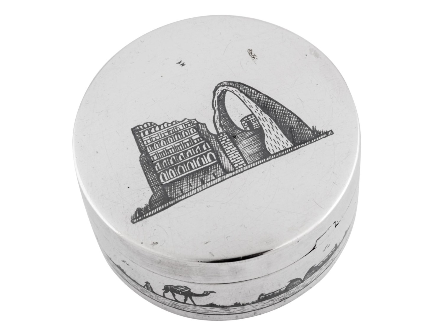 Silver auction 7_web - Iraqi silver box_crop