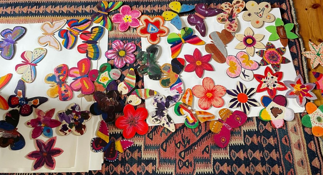 Butterflies and Flowers 1_web