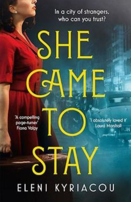 Local Authors - Eleni Kyriacou - She came to stay_web