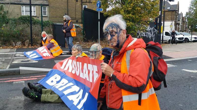 Insulate Britain Ink Attack
