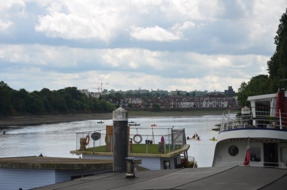 Chiswick Pier Trust Party on the Pier 201620