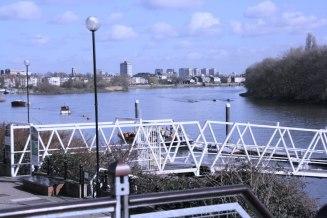 Balcony view downstream