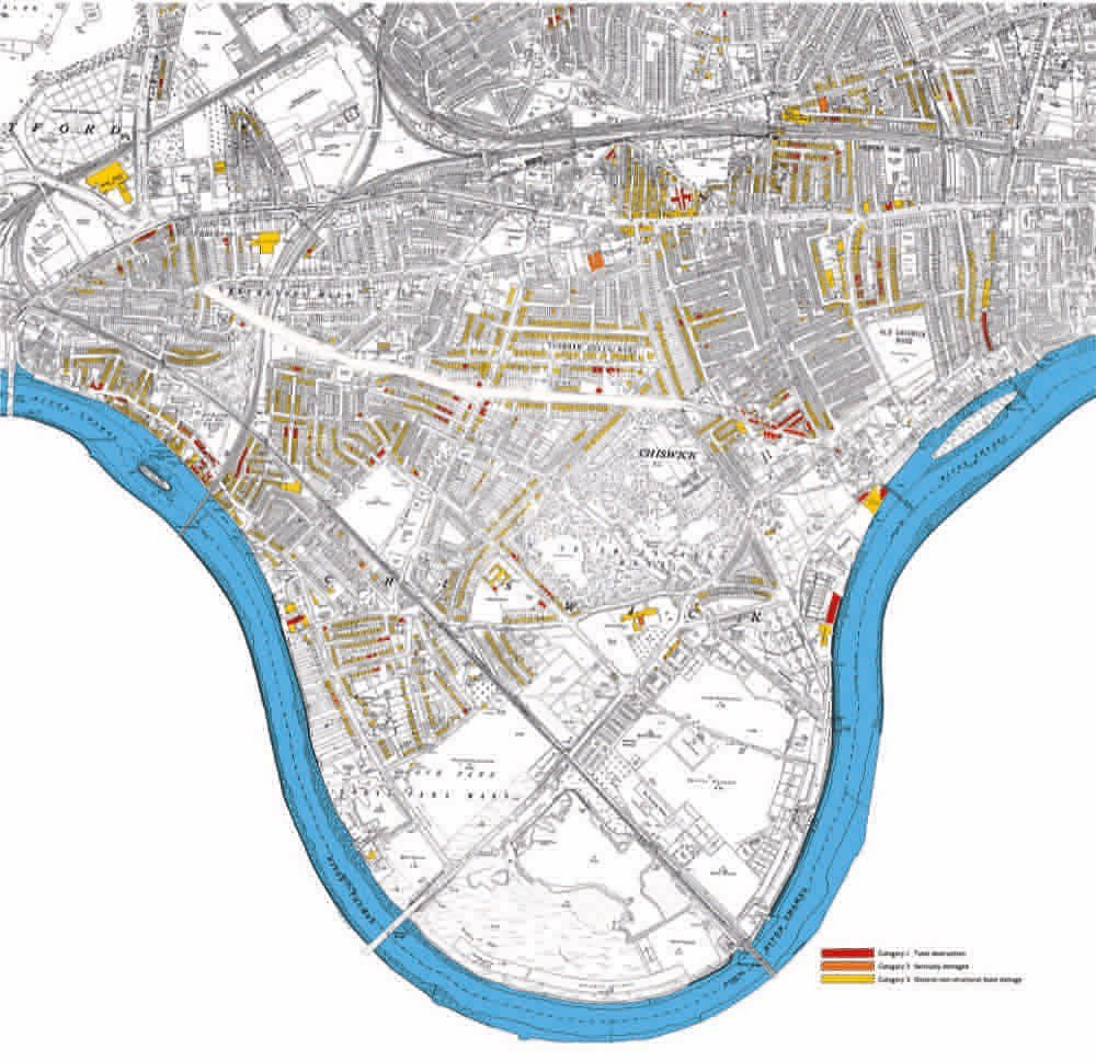 Timeline of historic maps; Chiswick through the centuries
