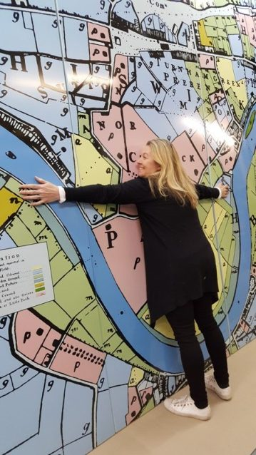 Chiswick Timeline another trip to Links Signs embracing map