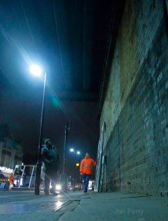 Chiswick Timeline installation Begins 2