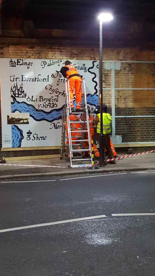 Chiswick-Timeline-installation-Thursday-9-January-2