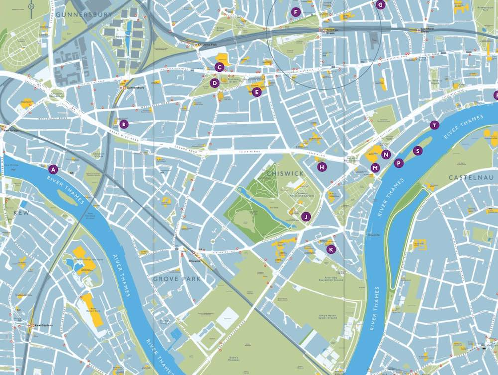 Chiswick Timeline art trail
