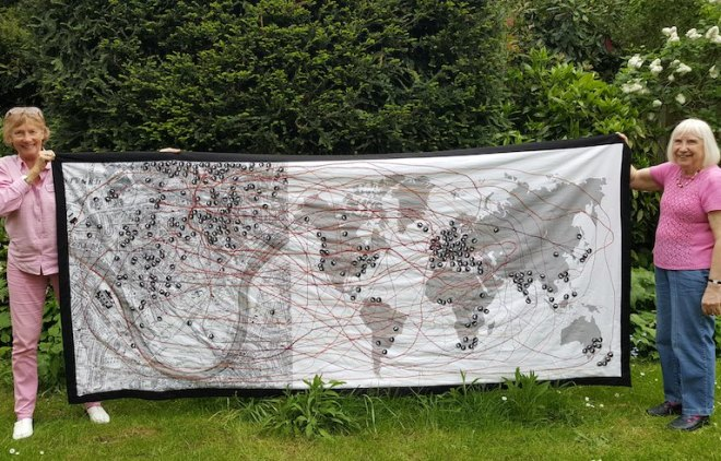 Chiswick without Borders tapestry