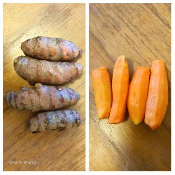 Fresh Tumeric Peeled & Unpeeled