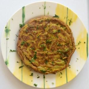Golden Eggs: Turmeric Frittata