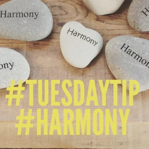 Tuesday Tip # 5: Harmony #chitchaatchai