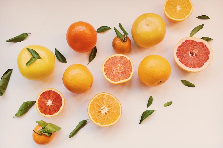 An array of citrus