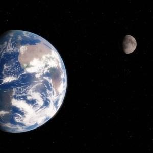月 moon  月面着陸
