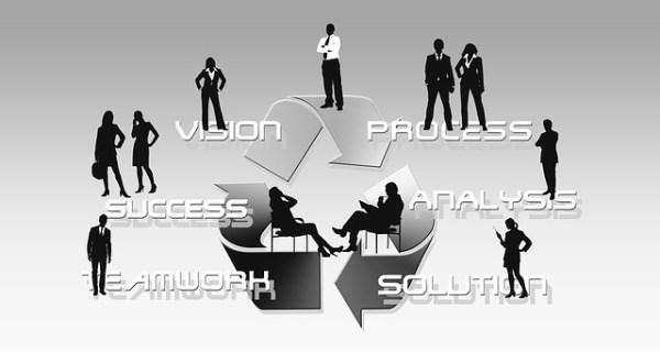 業務プロセス マネジメントサイクル ビジョン