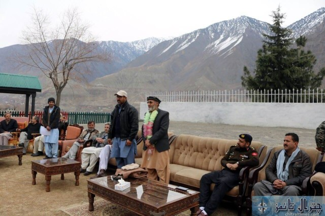 Afsar Ali accounts officer Chitral retired program 3
