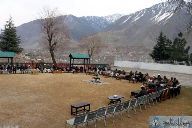 Afsar Ali accounts officer Chitral retired program 4