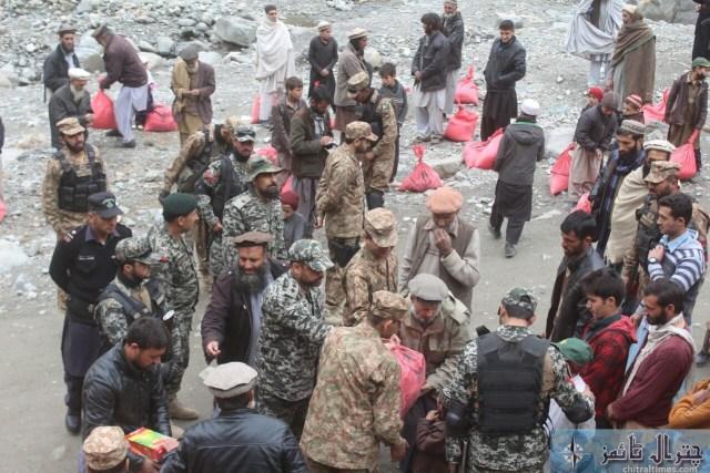 Comdt Chitral scouts visit Ursoon 2