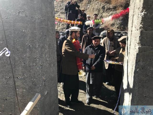 Zila nazim maghfirat shah bilphok bridge ka iftitah 2