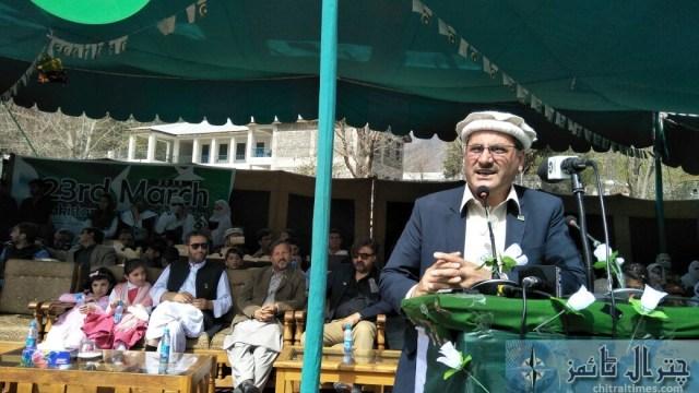 Pakistan day program chitral 2