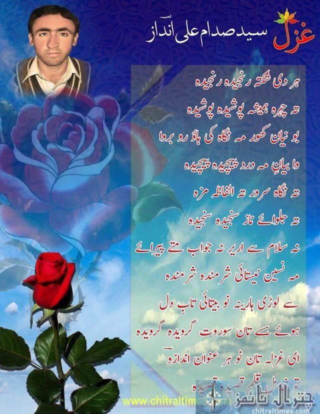 sadam drosh poetry