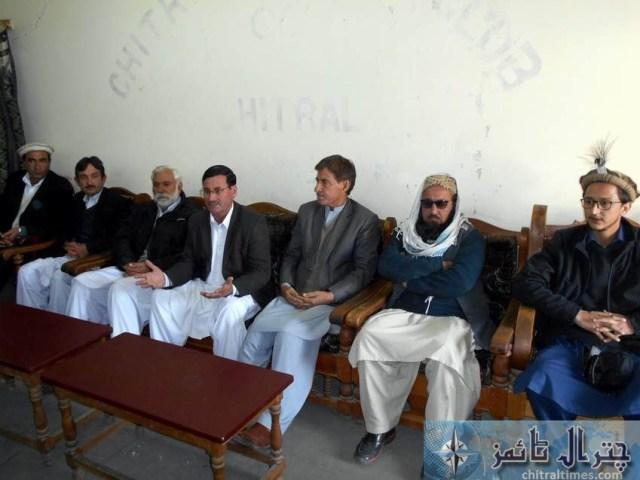 ppp Saleem khan press confrence Chitral 2