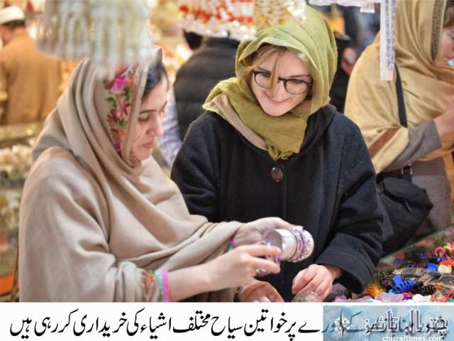 tourists visits peshawar historical places Italian toruists 2