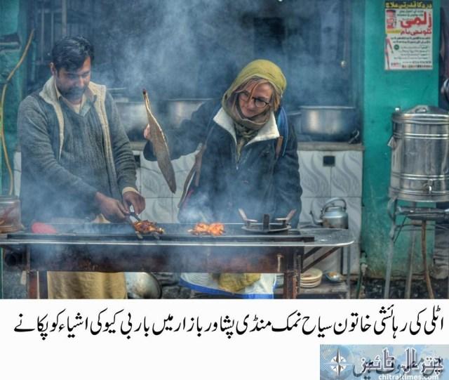 tourists visits peshawar historical places Italian toruists 5