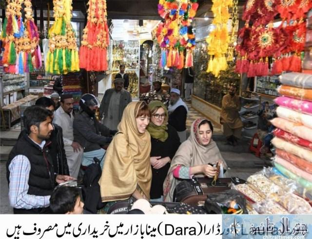 tourists visits peshawar historical places Italian toruists 7