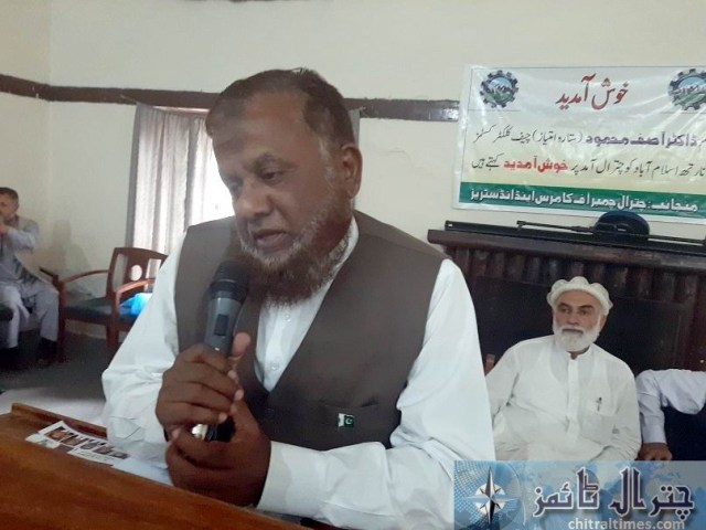 chief collector custom speech chitral 1