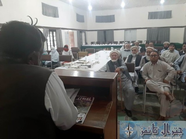 chief collector custom speech chitral 3