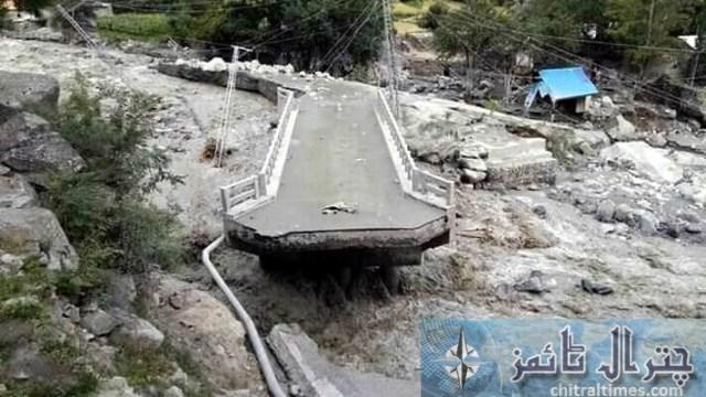 Golan flood distryoed bridges and road 5