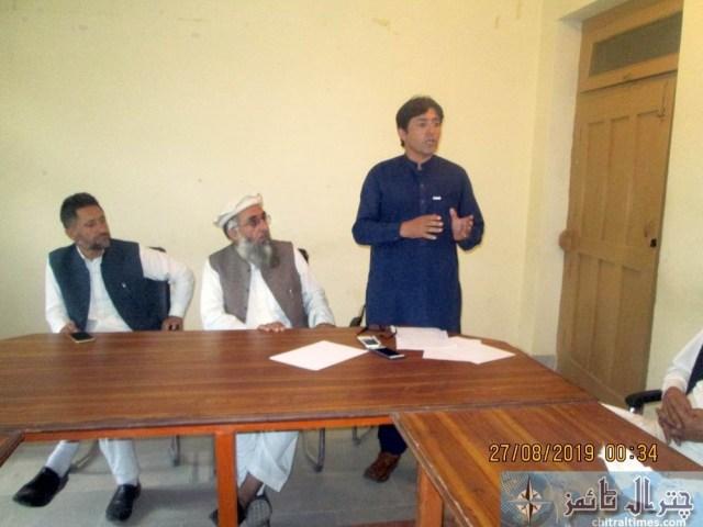 Tehsil council Mastuj last meeting 1 shafiq tmo