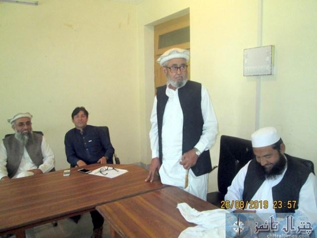 Tehsil council Mastuj last meeting 4